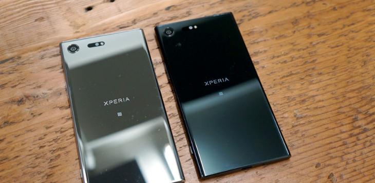 лучшие смартфоны с большим экраном: Sony Xperia XZ Premium