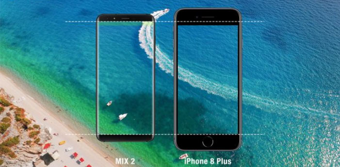 Ulefone MIX 2 vs iPhone 8 Plus – 6000 рублей vs 60000 рублей
