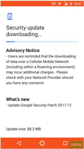 Nokia 2 получил обновление системы