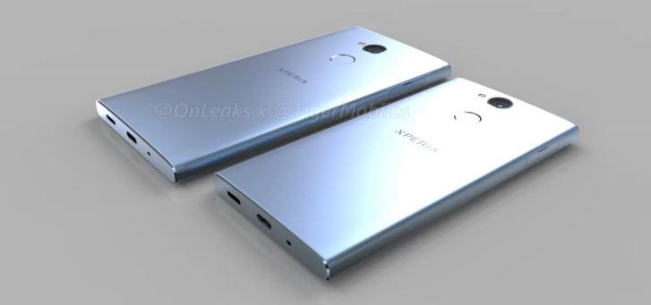 Новые рендеры Sony Xperia XA2 и Xperia XA2 Ultra: близится выход