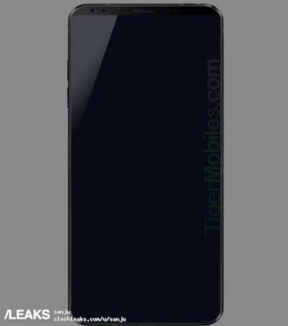 8ce417378f1ed LG G7 впервые появился на реальном фото